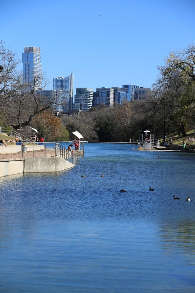 Zilker Park in Austin