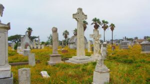 Cemetery in Galveston, Texas
