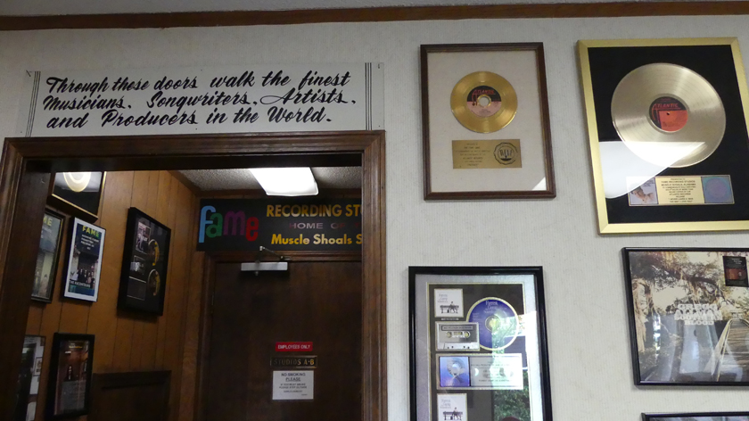 The doorway of FAME. Photo: Kathleen Walls
