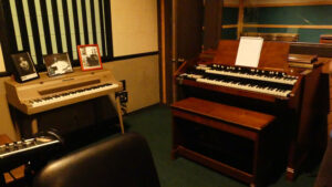 Studio B in FAME complete with instruments. Photo: Kathleen Walls