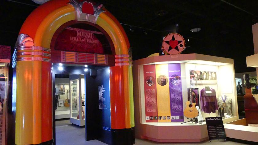 The music hall inside FAME. Photo: Kathleen Walls