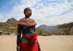 Photo of Kenyan woman by David Murphy NOTM
