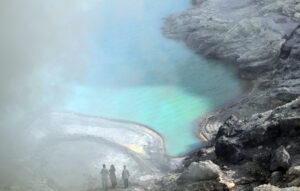 The volcanic crater of Kawah Ijen. Photo: Bandita Mukherjee