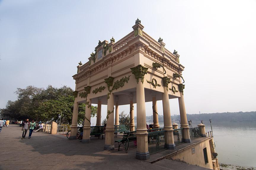 Durgachourone-Roquitte-pavilion-the-iconic-landmark-of-Chandannagar-Strand