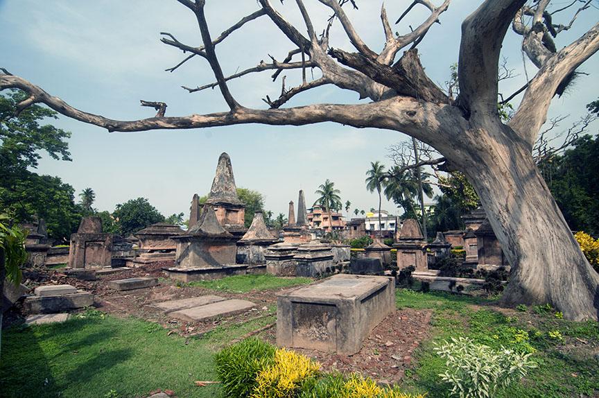 The Dutch cemetery of Chinsurah. Photo: Sugato Mukherjee