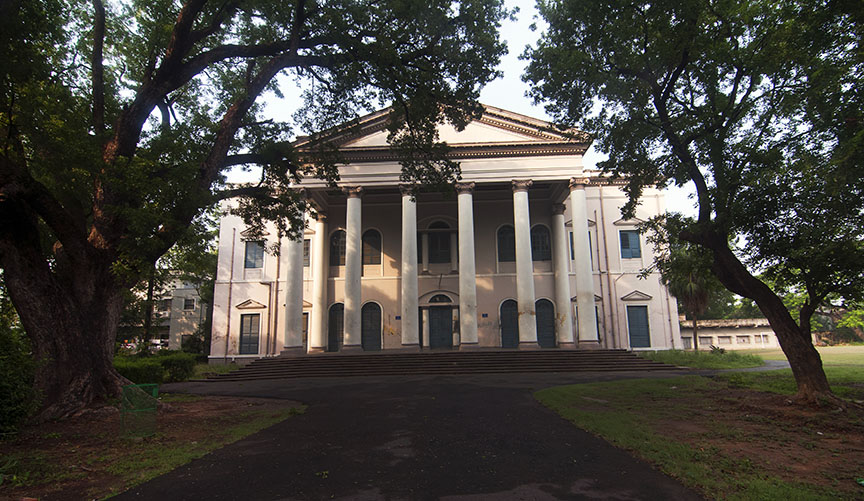 Serampore college, founded by the Danish in 1818, is the second oldest college in India. Photo: Sugato Mukherjee