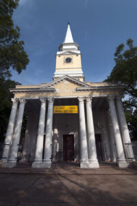 St. Olave's Church of Serampore, which was founded by subscriptions from Calcutta and Copenhagen in 1805. Photo: Sugato Mukherjee