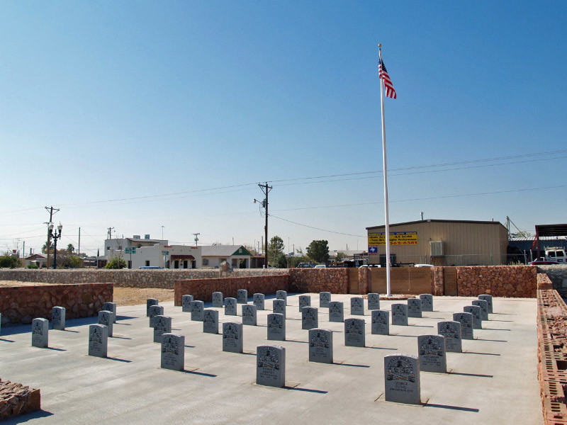 Buffalo Soldiers Memorial by Melissa Sargent. Photo courtesy of Visit El Paso.
