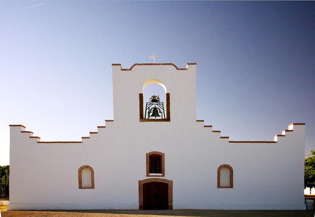 Socorro Mission. Photo courtesy of Visit El Paso.