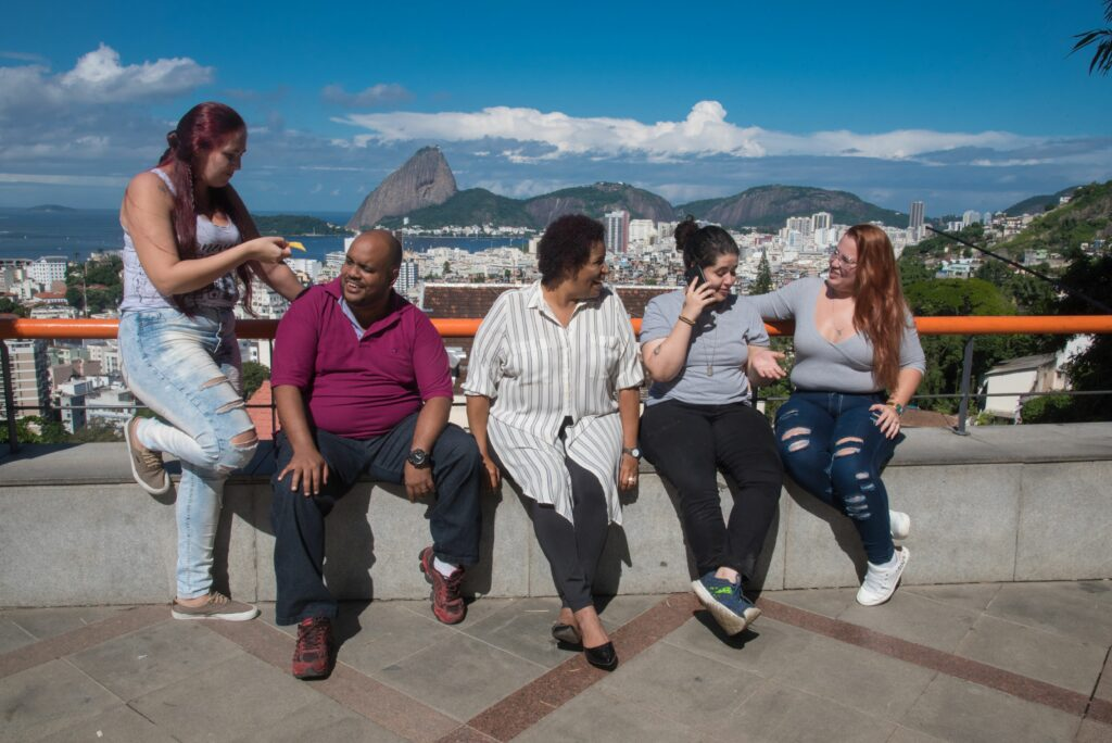 Plusisize travelers from Stop Weight Bias image gallery.Friends exploring courtesy of World Obesity