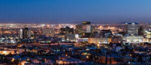 El Paso skyline at night
