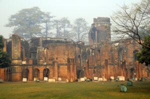 The ruined remnants of Residency. Photo: Bandita Mukherjee
