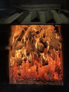 Fire-pit-in-Excell-smokehouse