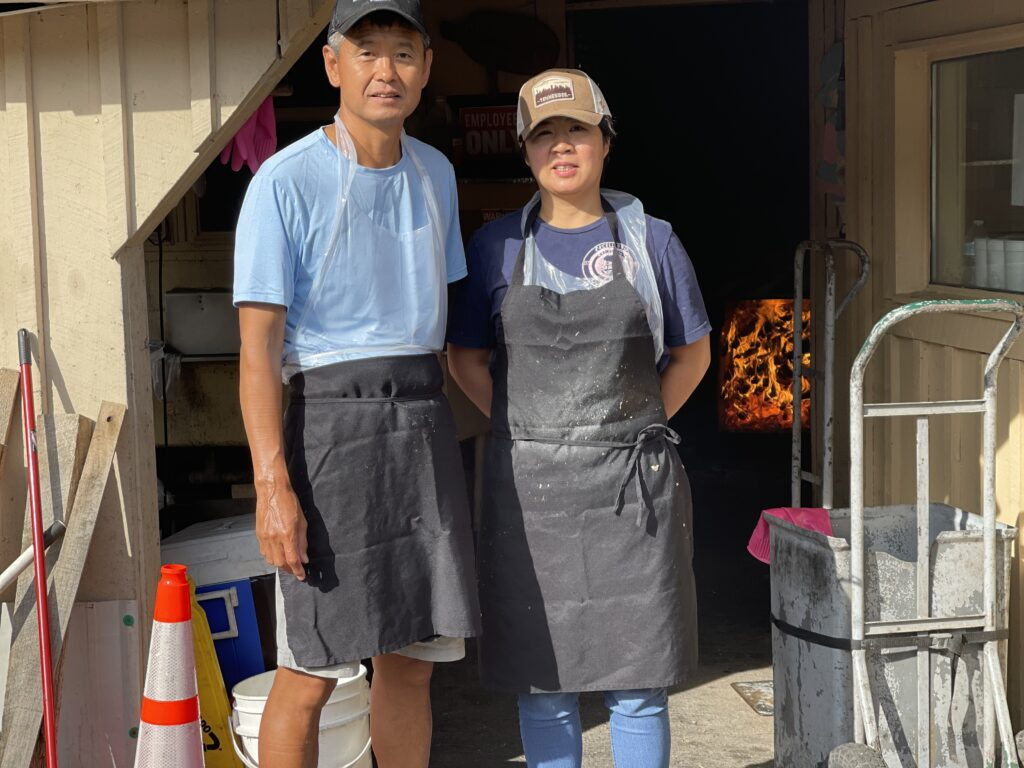 James and Chong Kim of Excell Market BBQ in Clarksville Tennessee