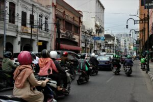 Kesawan- The old town of Medan centre of economy during Dutch colonialism. Photo: Nayla Azmi