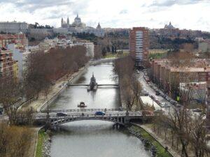 Manzanares River Madrid