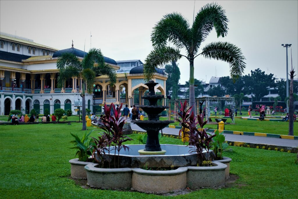 Maimoon Palace in Sumantra was once owned by Deli Sultanate. Photo: Nayla Azmi