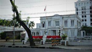 Medan Maschapaijj office now used as governor office of north sumatra province. Photo: Nayla Azmi
