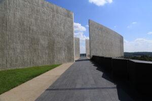 9/11 Flight 93 Memorial Flight Path Walkway. Photo Credit NPS Public Domain