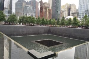9/11 Memorial Reflection Pool. Photo courtesy of Pixabay