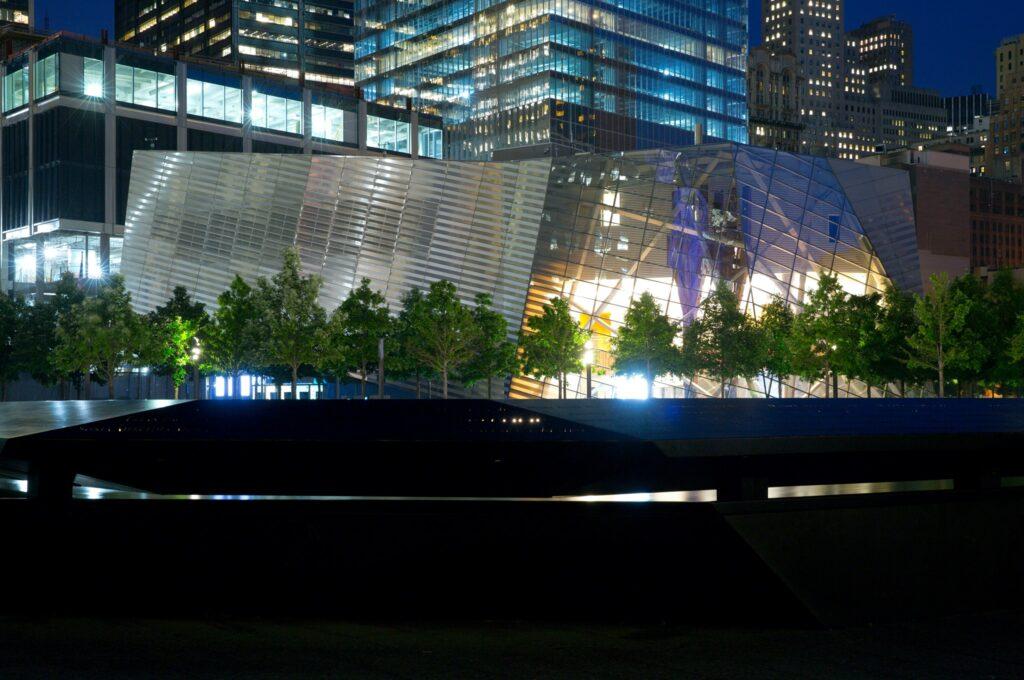 9/11 Museum Exterior. Photo credit: FB 9/11 Memorial Museum