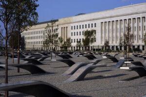 9/11 Pentagon Memorial. Photo credit: US Navy Mass Communication Specialst