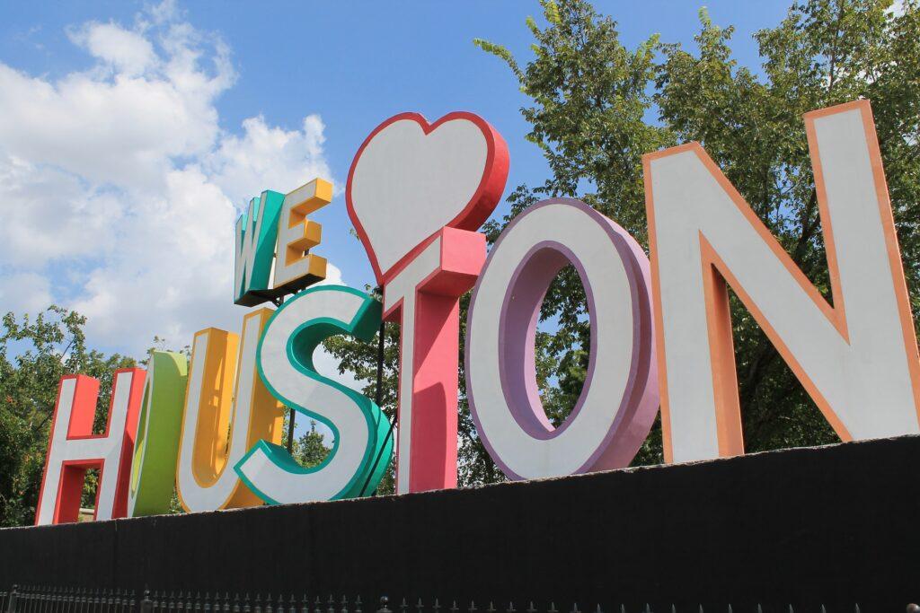 We love Houston sculpture
