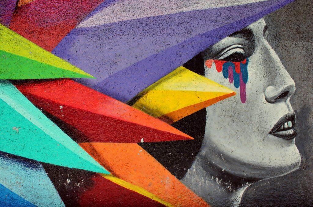 street-art-Lavapies neighborhood in Madrid