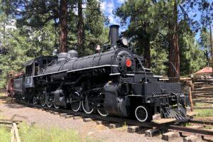 Train featured in Flagstaff Pioneer Museum. Photo: Breana Johnson