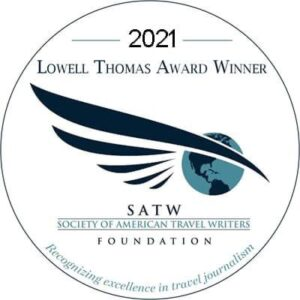 SATW Lowell Thomas Award Button for 2021
